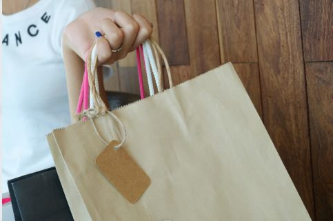 When you're done shopping shopping, remember to reduce, reuse, and recycle.