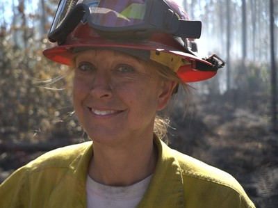 Patricia Stockett - Wildland Firefighter