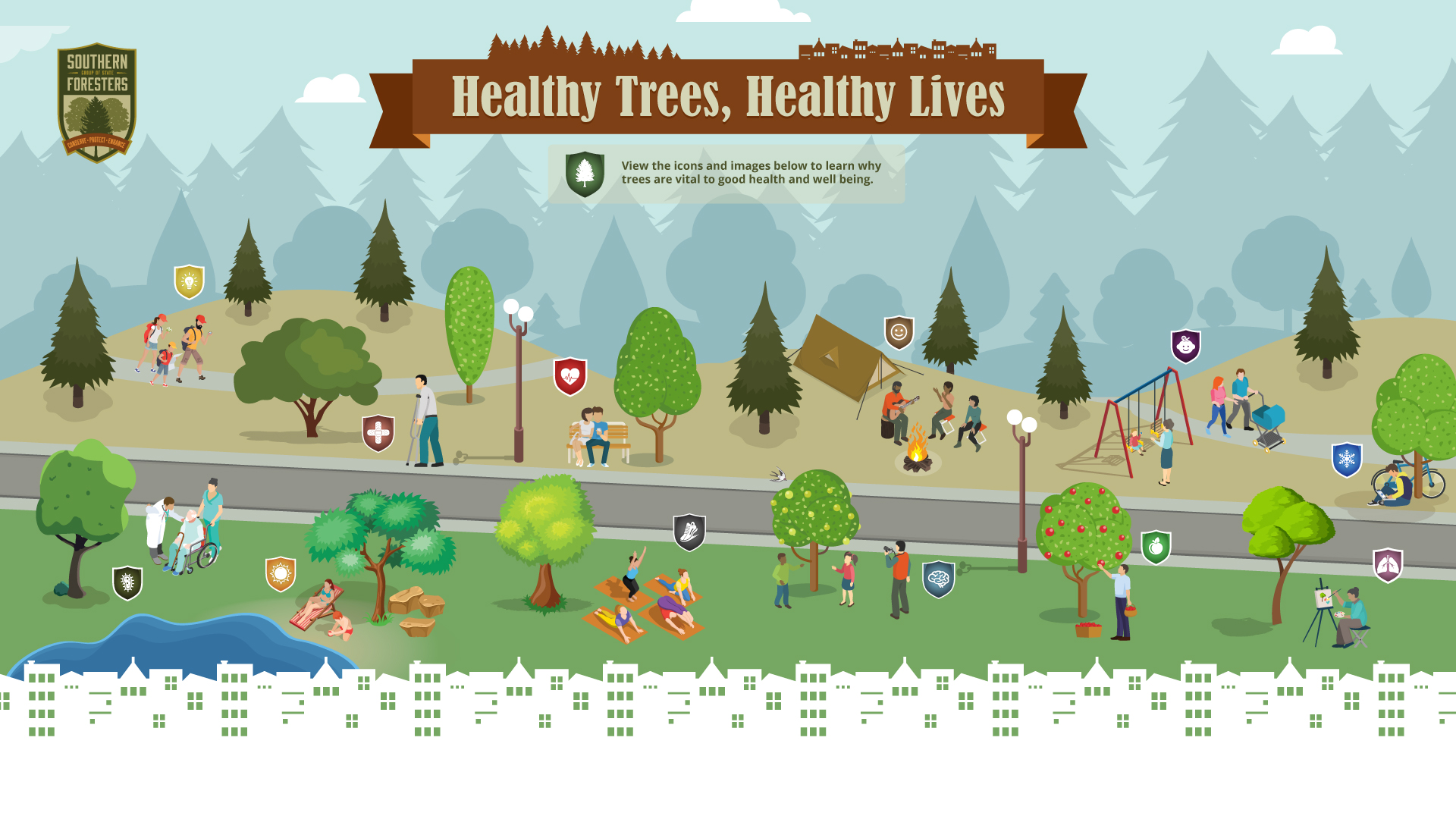 Healthy Trees, Healthy Lives